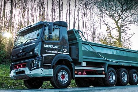 """Mark Luck: new Volvo truck is """"best vehicle I've ever driven"""""""